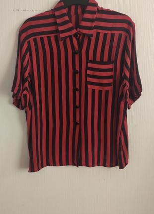 Блуза шелк