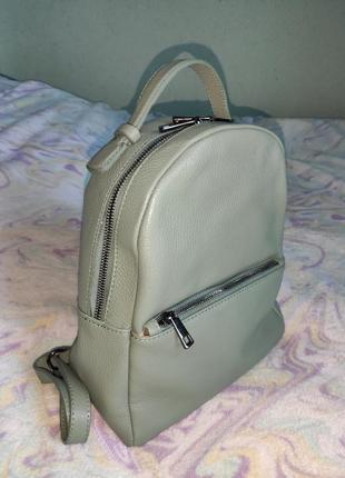 Шкіряний рюкзак 26*28*12, італія