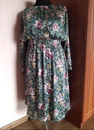 Шёлковое платье tu
