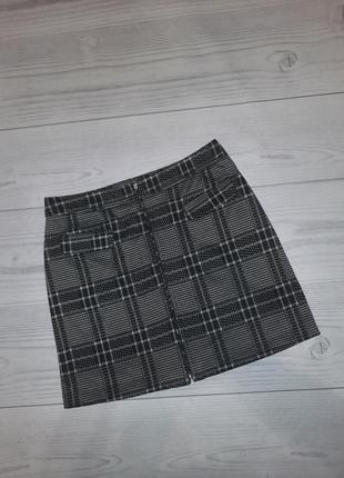 Трендовая юбка на молнии