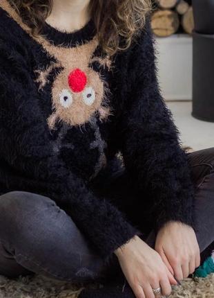 Женский свитер s, б/у