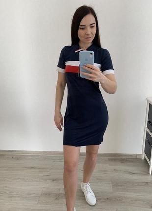 Спортивна сукня в стилі поло