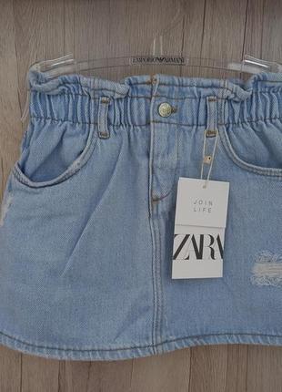 Детская юбка zara 3-4 ( 104 см )
