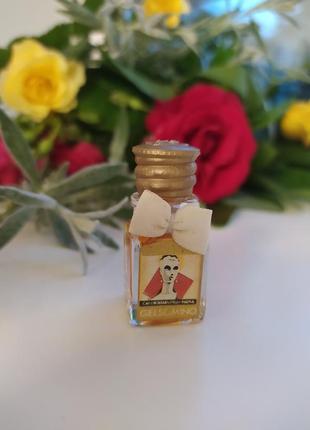 Borsari gelsomino, редкая винтажная миниатюра, парфюмированная вода, 3,5 мл