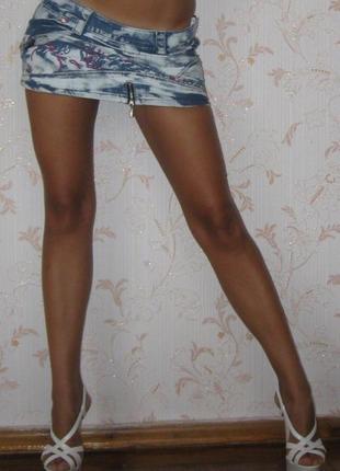 Юбка мини джинсовая verda