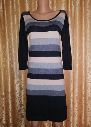🎀🎀🎀стильное трикотажное женское платье marks & spencer🔥🔥🔥