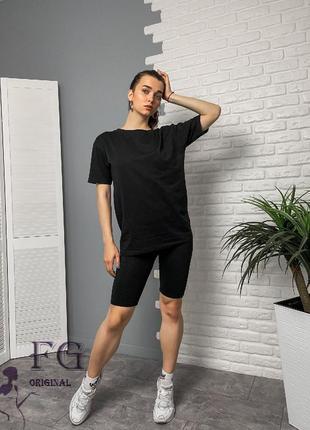 """Трикотажний костюм футболка з велосипедками """"orlando""""6 фото"""