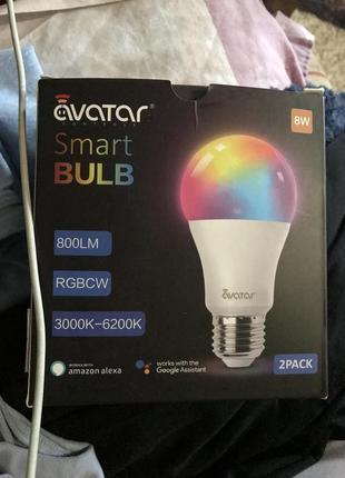 Смарт-лампа avatar комплект 2 шт