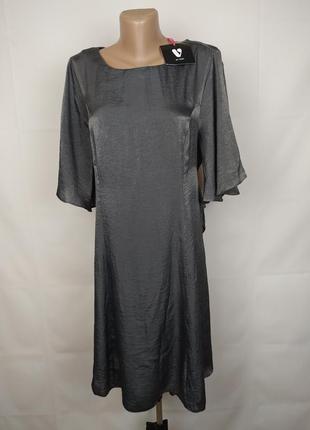 Платье новое стильное легкое большого размера uk 18/46/xxl