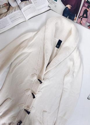Кофтах дафлкот,свитер,кардиган,тёплая кофта,белая кофта