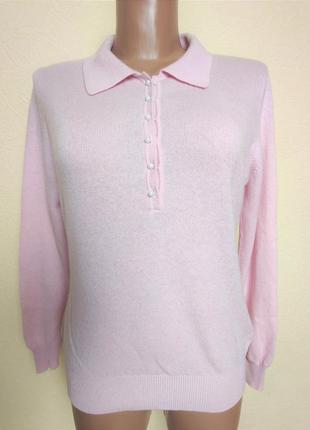 Шерстяной кашемировый джемпер свитер woolovers /3166/