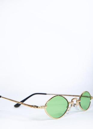 Очки женские солнцезащитные цвет зеленый