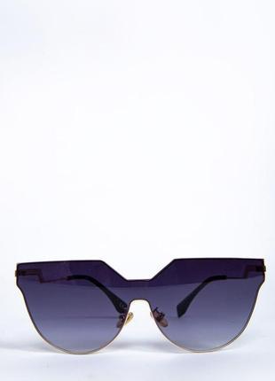 Очки женские солнцезащитные цвет черный