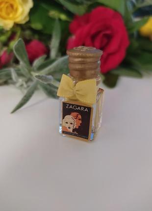 Zagara borsari, редкая винтажная миниатюра, парфюмированная вода, 3,5 мл