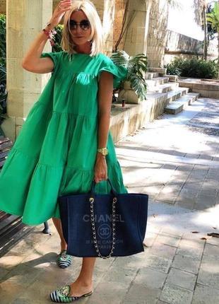 Платье ярусное