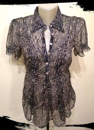 Легкая летняя блуза блузка с коротким рукавом only