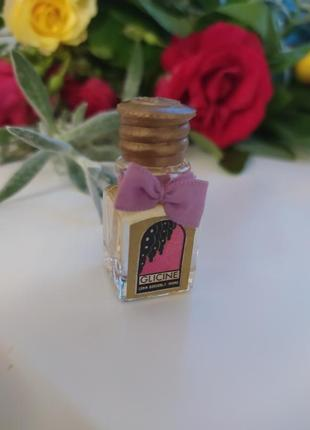 Glicine borsari, винтажная миниатюра, парфюмированная вода, 3,5 мл