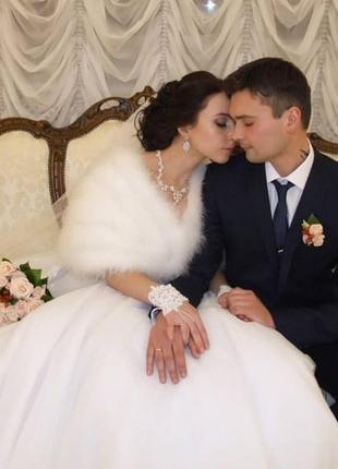 Свадебное платье princess с корсетом