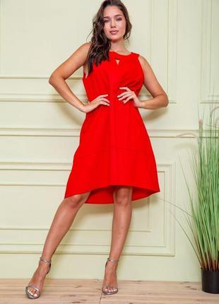 Платье цвет красный