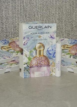 Guerlain aqua allegoria flora salvaggia пробник для женщин оригинал
