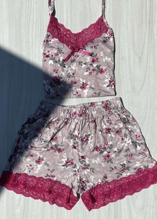 Домашняя пижама нежнейшая коллекция от nicoletta, пр-во турция, в наличии размеры