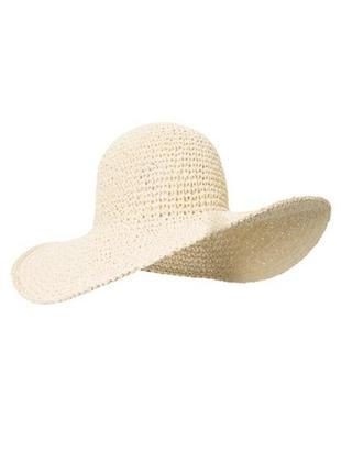 Оригинал! новая брендовая плетеная шляпа шляпка соломенная панама капелюх панамка со