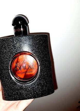 Yves saint laurent black opium 90мл блек опиум духи парфюмированная вода оригинал парфюм