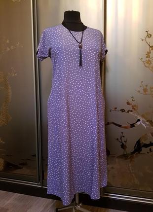 Платье летнее, женское,большого размера; батал;5232lort