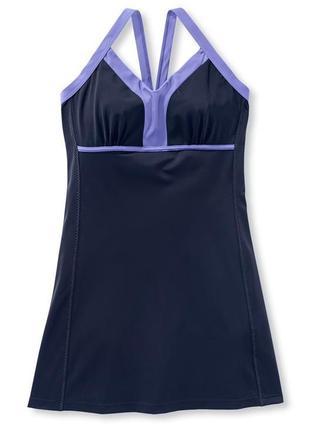 Новое! пляжное платье , сарафан, туника для купания tcm tchibo (германия), р.46