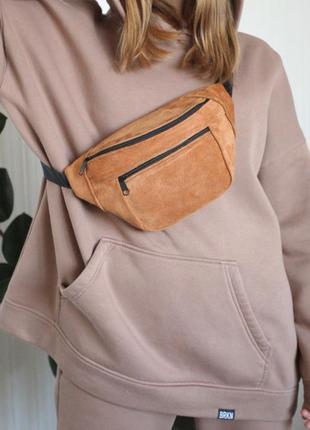 Бананка яркая летняя дорожная унисекс через плечо,поясная барсетка эко-сумка сумочка б6