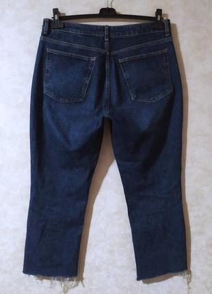 Трендовые прямые джинсы из плотного дениса, topshop, xxl- 34-35