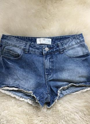 Женские джинсовые шорты 36