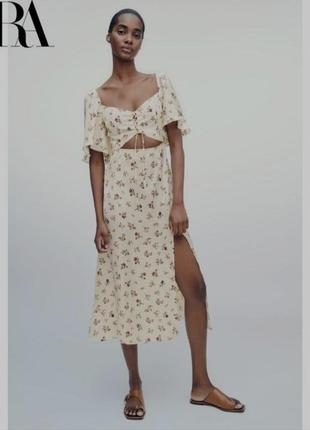 Zara платье из новой коллекции