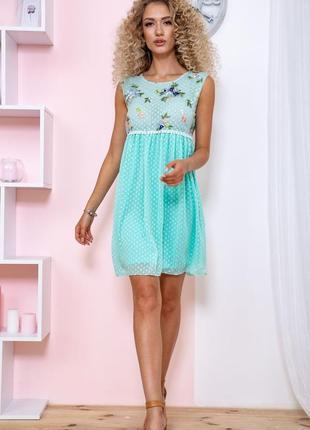 Платье 167r1226 цвет мятный (7 цветов)