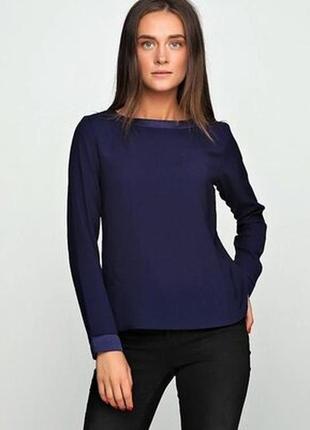 Синяя блуза с длинным рукавом esmara