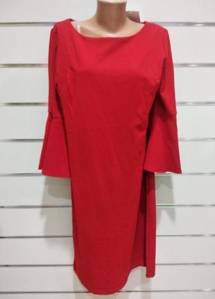 Плаття жіноче ronni nicole красное миди
