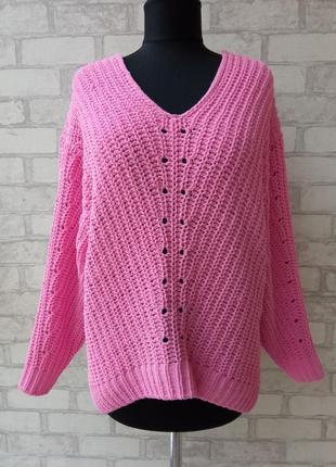 Потрясающий плюшевый свитер оверсайз