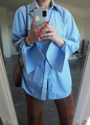 Рубашка под запонки hugo boss с рукавами под запонки