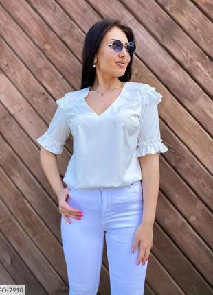 Летняя женская блузка. 42-56р. 5 цвета.
