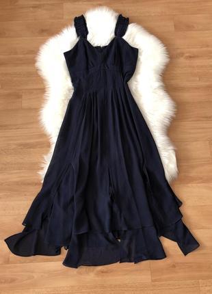 Шикарное вечернее платье сукня плаття миди длинное на выход