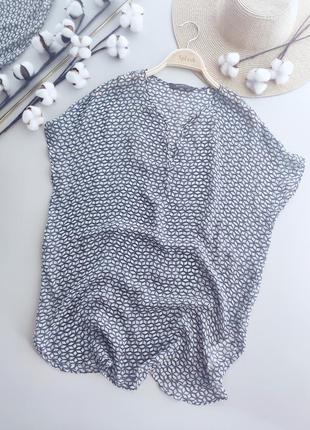 Шёлковая, невесомая, полупрозрачная блуза