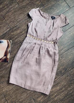 Шикарное дизайнерское миди платье adrianna papel