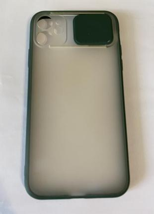 Чехол на айфон 11 защита для камеры