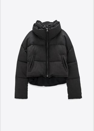 Куртка пуффер от zara