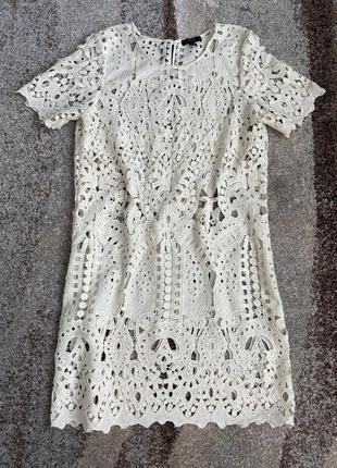 Кружевное платье asos