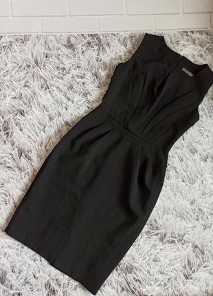 Шикарное платье atmosphere black, базовое платье деловой стиль