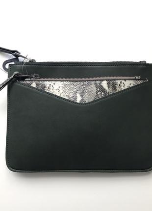 Новая 2в1 сумочка со змеиным кошельком