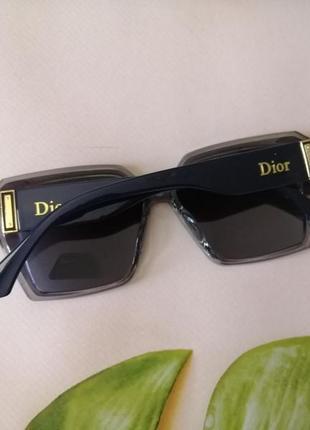 Эксклюзивные темно синие женские солнцезащитные очки с поляризацией