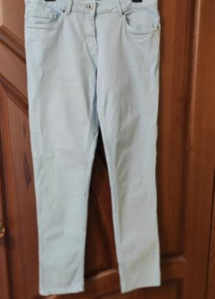 Женские джинсы скинни светлые р.50