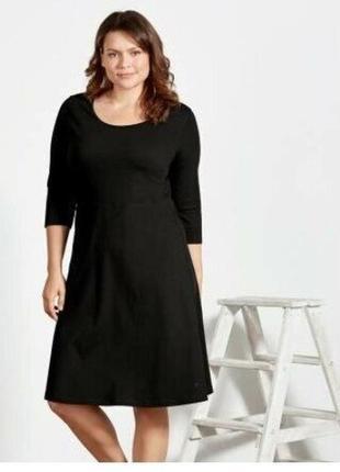 Платье женское трикотажное большого размера 56-58 esmara германия